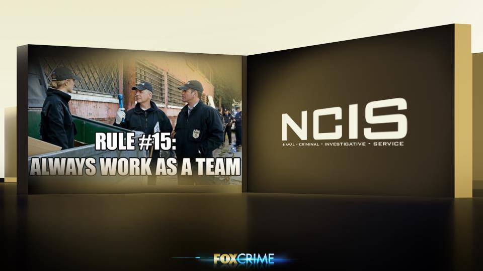 """""""Le regole sono fatte per essere infrante"""" - Ecco, no. Le regole di Gibbs non si infrangono. Punto."""