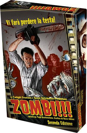 La confezione della seconda edizione di Zombi!!!