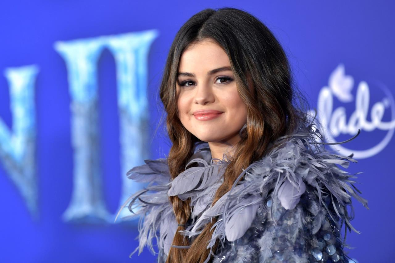 Selena Gomez alla premiere mondiale di Frozen 2