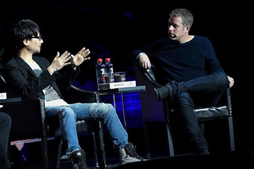 Hideo Kojima e Geoff Keighley