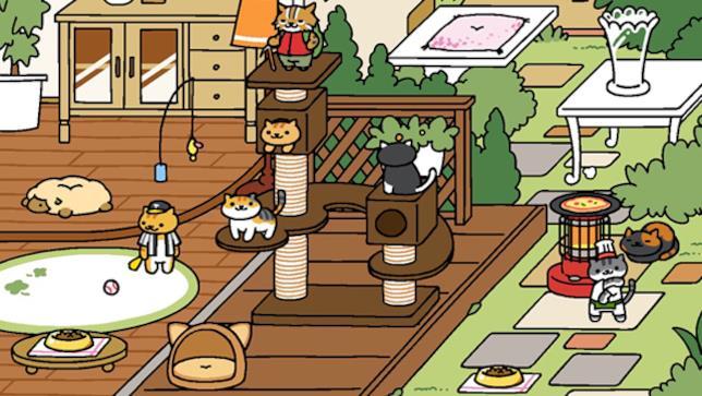 Neko Atsume, il gioco