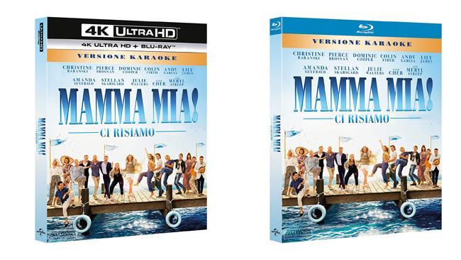 Mamma Mia! Ci risiamo - Blu-ray e 4K Ultra HD