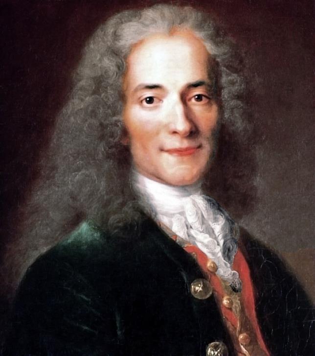 Ritratto di Voltaire
