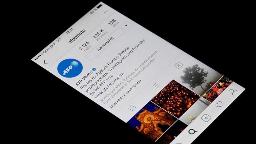 Immagine di un profilo Instagram con la spunta blu