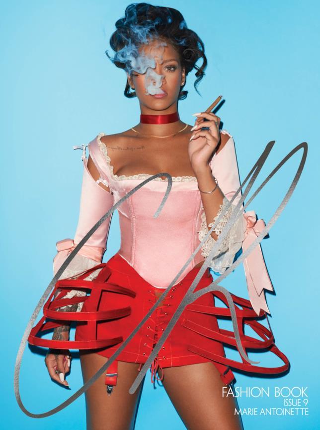 Rihanna è Maria Antonietta per Carine Roitfeld