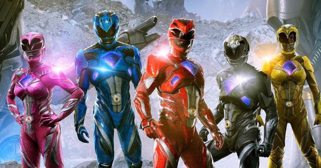I Power Rangers nel film diretto da Dean Israelite
