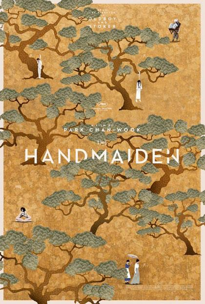 Il poster inglese di The Handmaiden
