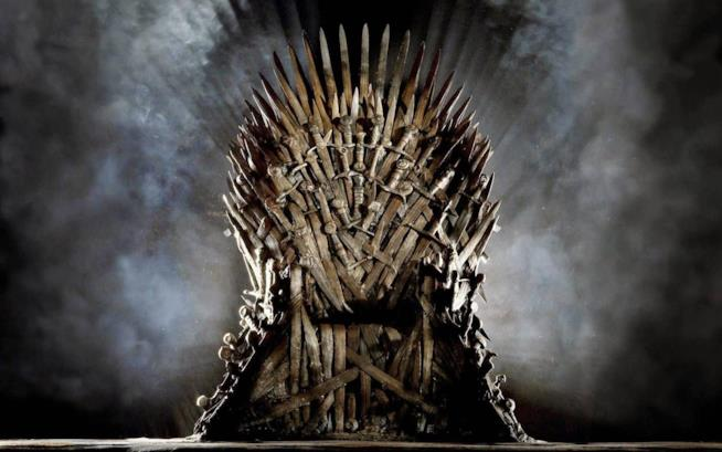 il trono di spade di Game of Thrones