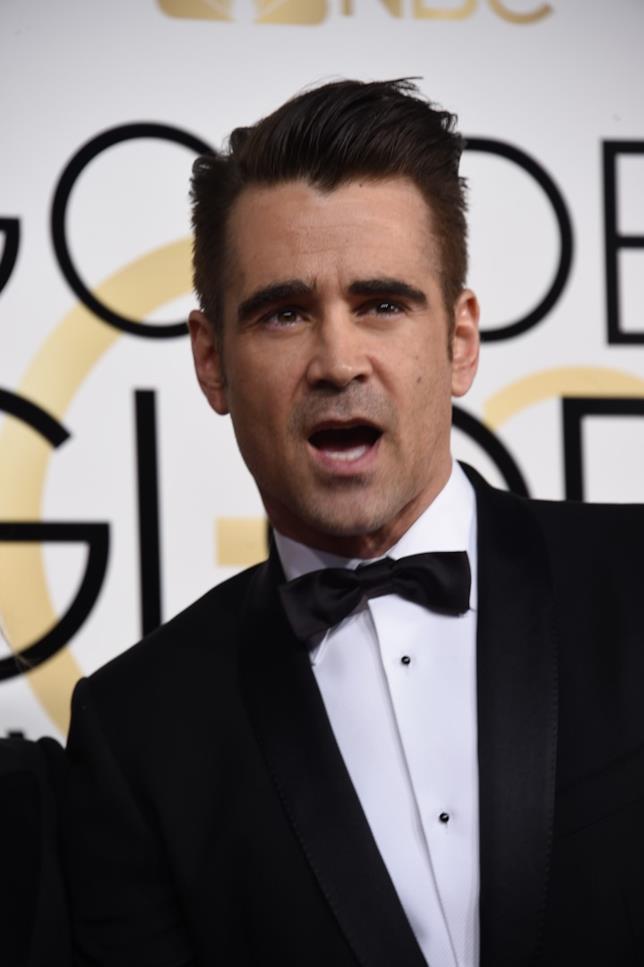 Una strana espressione di Colin Farrell