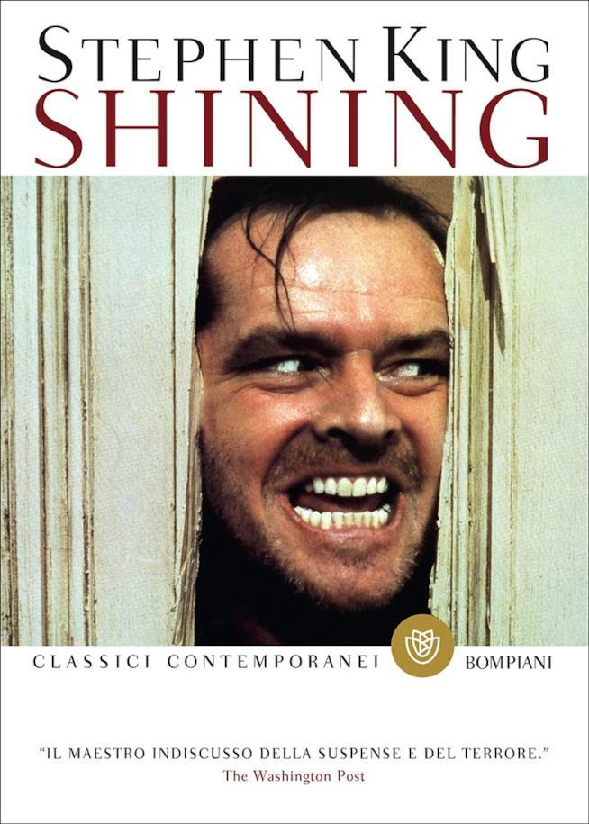 La copertina di Shining edizione 2014