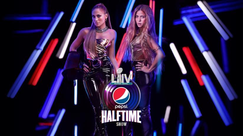 Jennifer Lopez e Shakira in posa per pubblicizzare la loro presenza al prossimo Super Bowl
