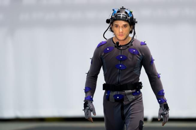 Kit Harington nelle fasi di motion capture di Call of Duty: Infinite Warfare