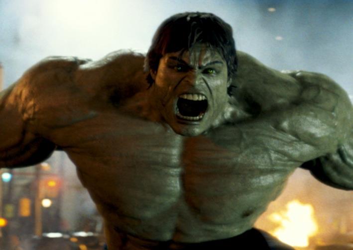Edward Norton come Hulk in L'incredibile Hulk