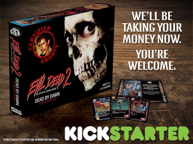 Il gioco in scatola Evil Dead 2