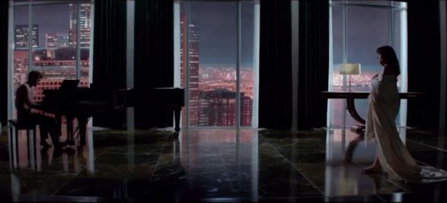 La scena del piano in Cinquanta sfumature di grigio