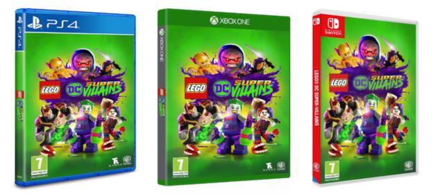 Le versioni per console di LEGODC Super-Villains