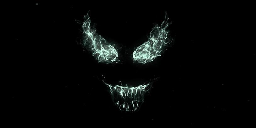 Il classico look di Venom intravisto nel trailer