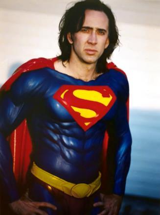 Nicolas Cage ai tempi del provino per Superman