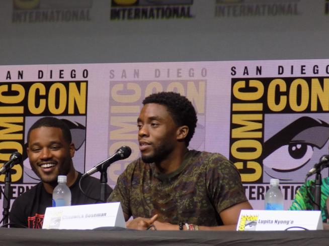 SDCC 2017, Chadwick Boseman al panel di Black Panther