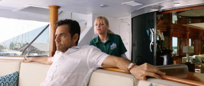 Una scena del nuovo Overboard