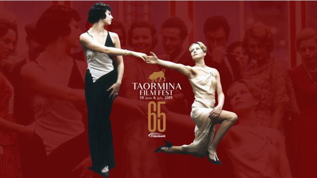Il poster ufficiale della 65a edizione del Taormina Film Fest
