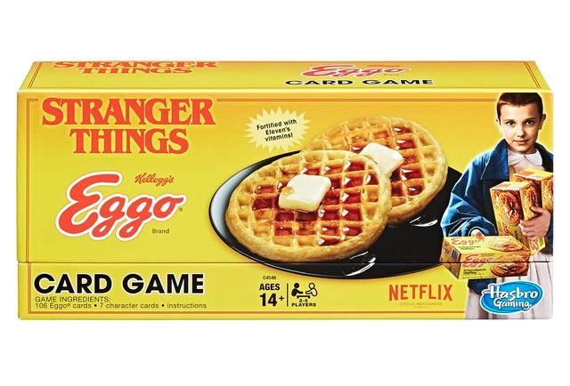 La scatola colorata di Eggo, le nuove carte da gioco