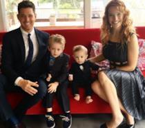 La famiglia di Michael Bublé al completo