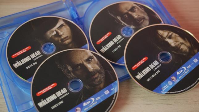 Rick, Negan e gli altri sui quattro dischi Blu-ray di The Walking Dead 8
