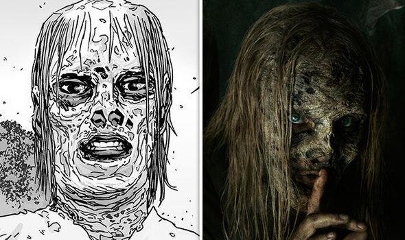 The Walking Dead: Alpha nel fumetto e nella serie TV