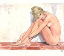 Brigitte Bardot immortalata nell'acquarello di Milo Manara