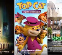Le locandine di Star Trek Beyond, Top Cat e i Gatti Combinaguai e Mr Cobbler e la Bottega Magica