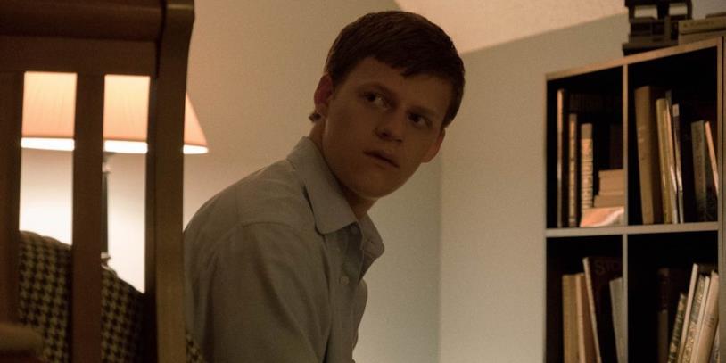 Lucas Hedges in una scena dal film