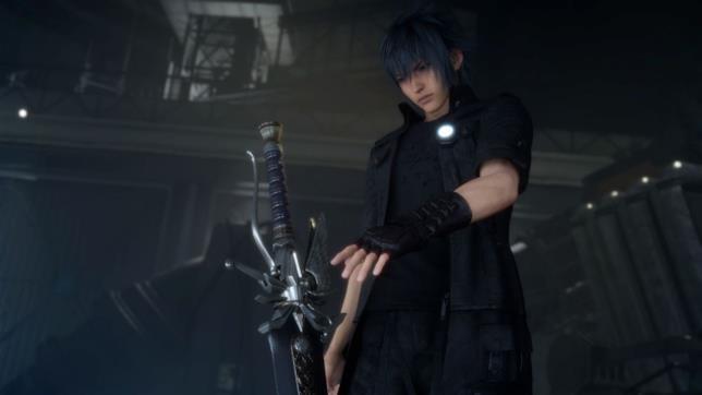 La Balmung Sword e Noctis in FFXV