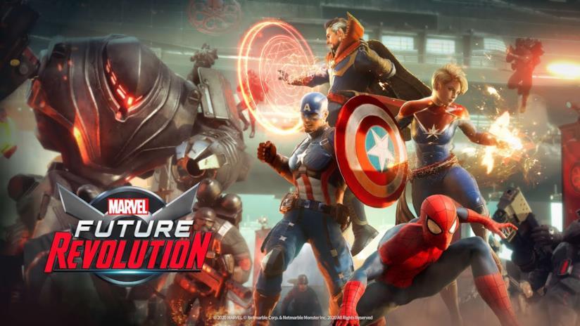 Immagine promozionale di Marvel Future Revolution