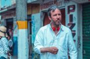 Un'immagine di Denis Villeneuve sul set di Sicario