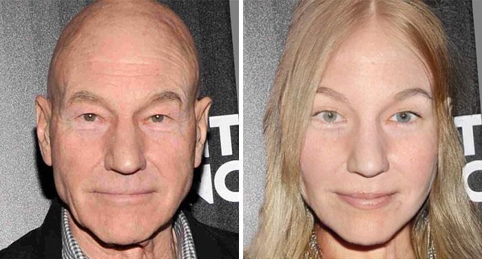 Da uomo a donna: la trasformazione di Patrick Stewart