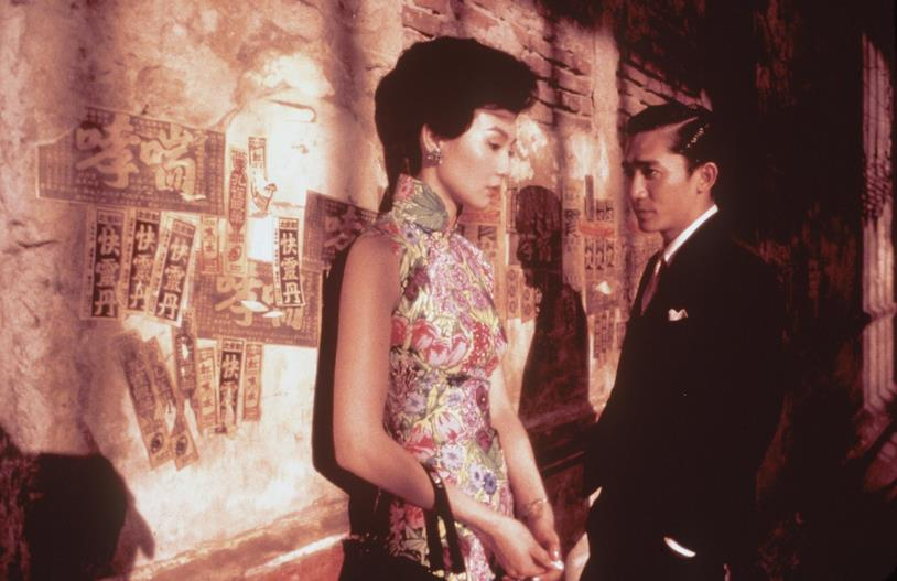 Maggie Cheung e Tony Leung in In the mood for Love