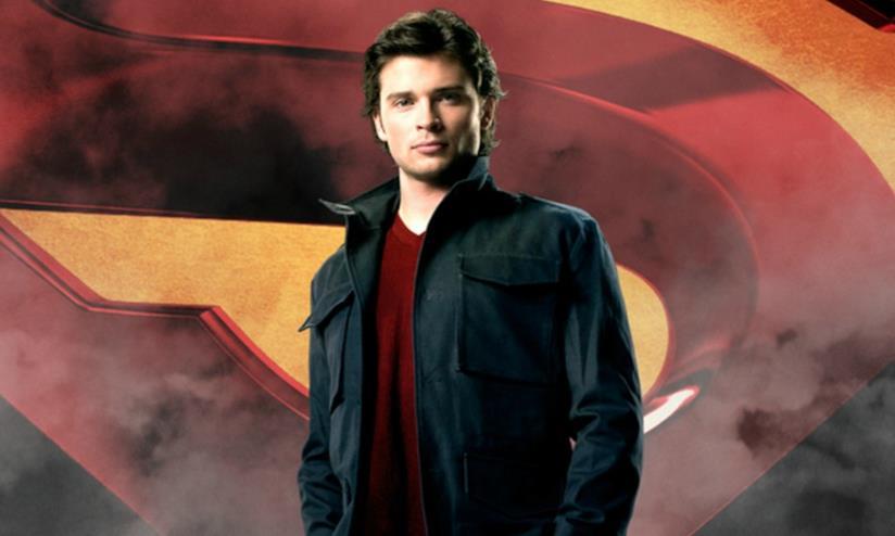 Tom Welling nella serie TV Smallville