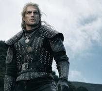 Henry Cavill nei panni di Geralt per The Witcher