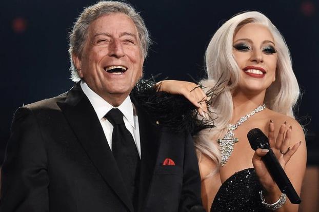 Lady Gaga insieme a Tony Bennett