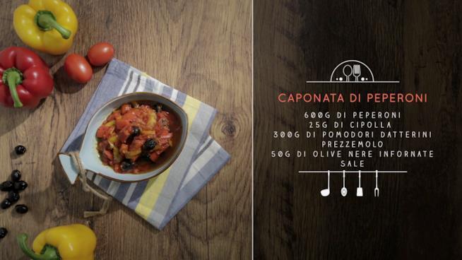 La ricetta della caponata di peperoni