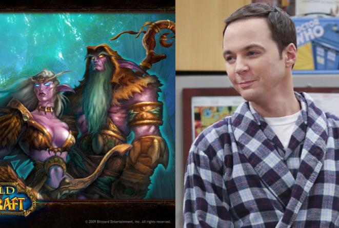 Roba da Nerd con The Big Bang Theory: alla conquista di World of Warcraft