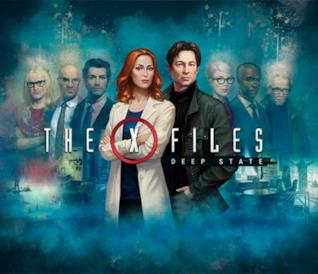 Mulder e Scully in X-Files: Deep State