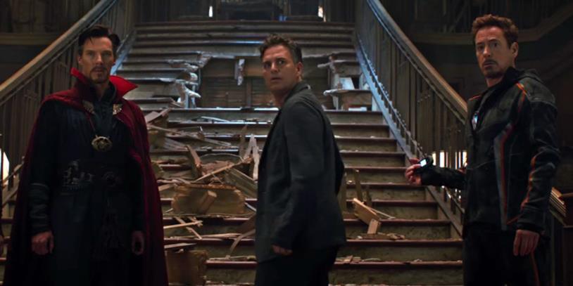 Banner con Strange e Stark