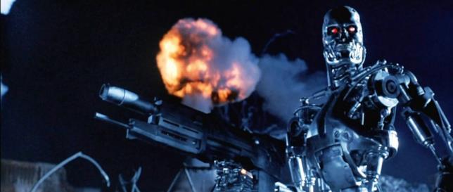 Una scena di Terminator 2 - Il giorno del giudizio