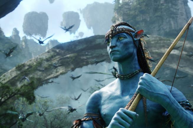Una scena del primo film di Avatar