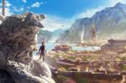 Uno degli spettacolari scenari di Assassin's Creed Odyssey