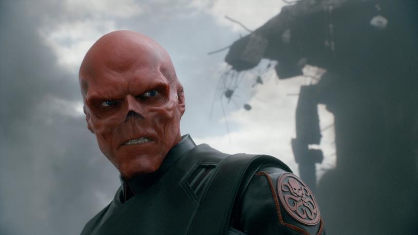 Hugo Weaving come Teschio Rosso in Captain America - Il primo Vendicatore