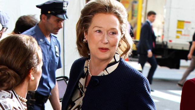 Meryl Streep in una scena dal film The Post