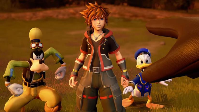 Una sequenza di gioco di Kingdom Hearts 3